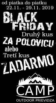 Black Friday CAMP Outdoor Prievidza